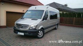 bus firmy Ultrans z Lublina do Holandii
